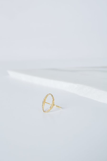5 Octobre Glen Ring - Gold Vermeil