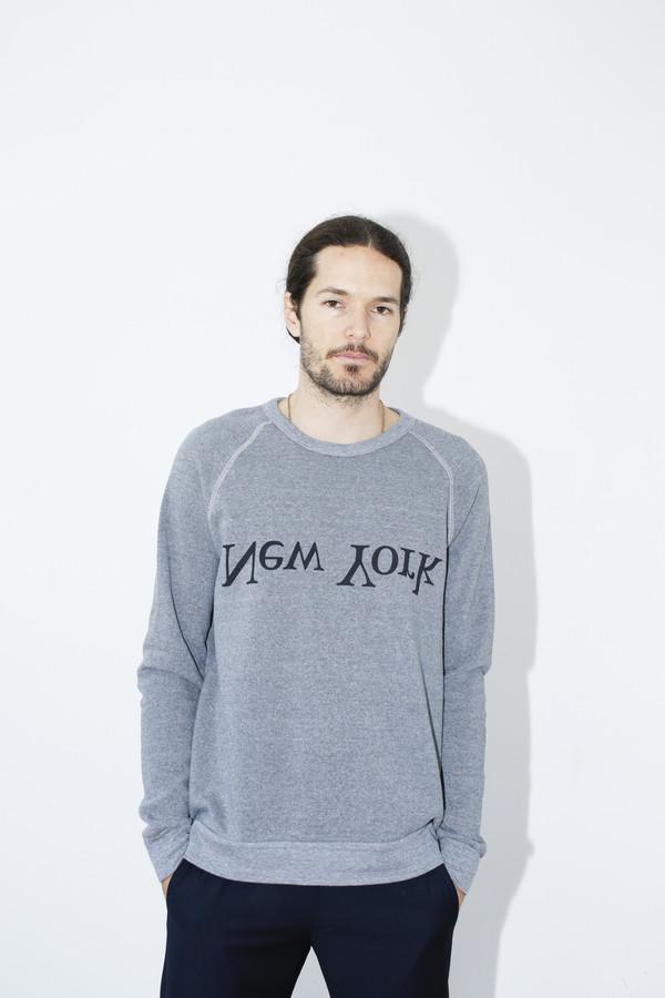 Unisex Assembly Grey NY Logo Sweatshirt