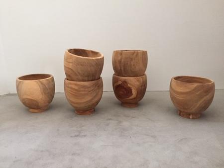 A Détacher Olive Wood Bowl