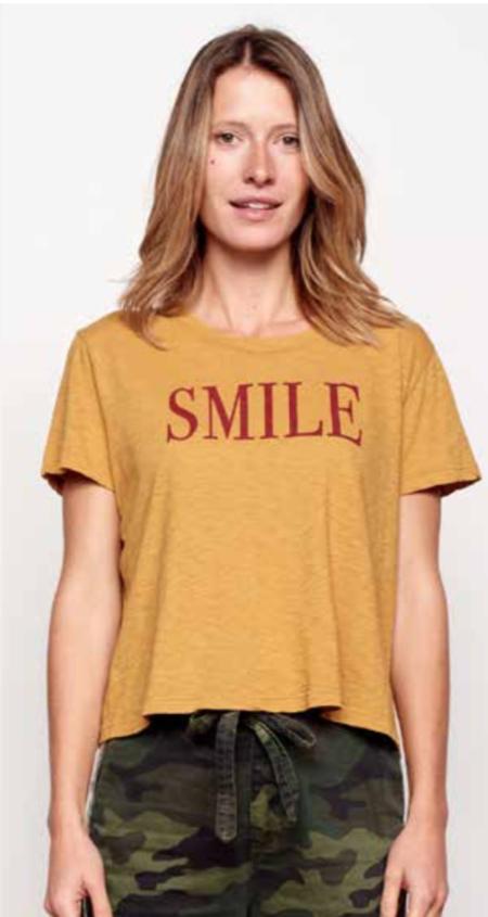 Sundry Smile Vintage Tee - HONEY