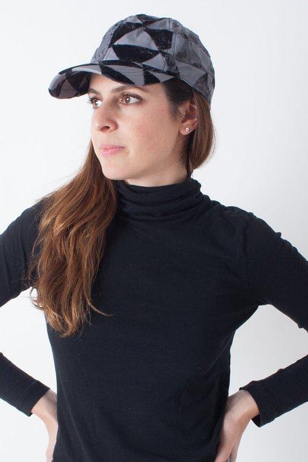 Colorant Velvet Cap - Black Burnout