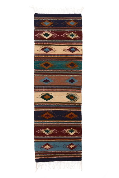 Whimsy & Row Zapotec Wool Runner - Multicolored