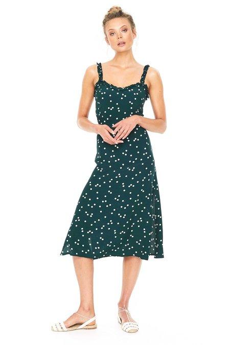Faithfull Gizele Midi Dress - green