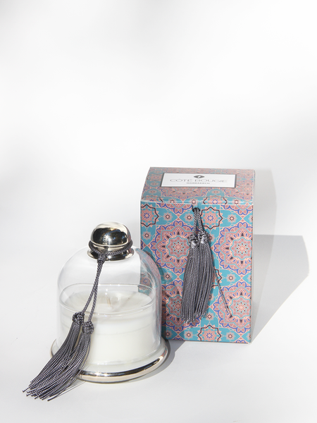 COTE BOUGIE Candle Cloche - Gris Noir