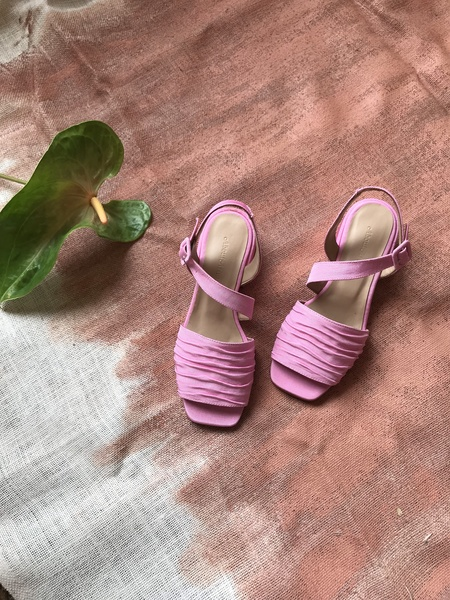 About Arianne Selva Sandal - Blush Pink
