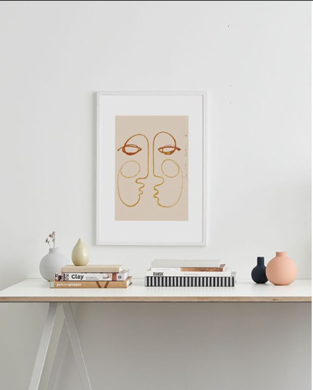 LouLou Avenue Connecting Art Print
