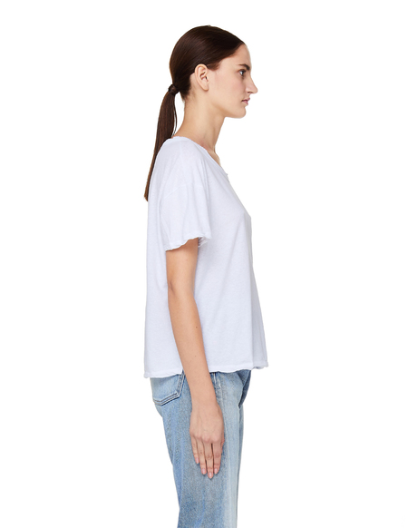 James Perse Cropped Cotton T-Shirt