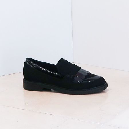 Aperlaï Loafers - Black