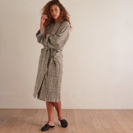 Unisex Oddbird Damat Handwoven Robe - Grey