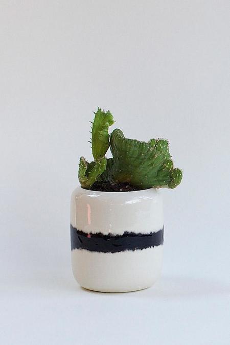 BTW Ceramics Blur Small Planter