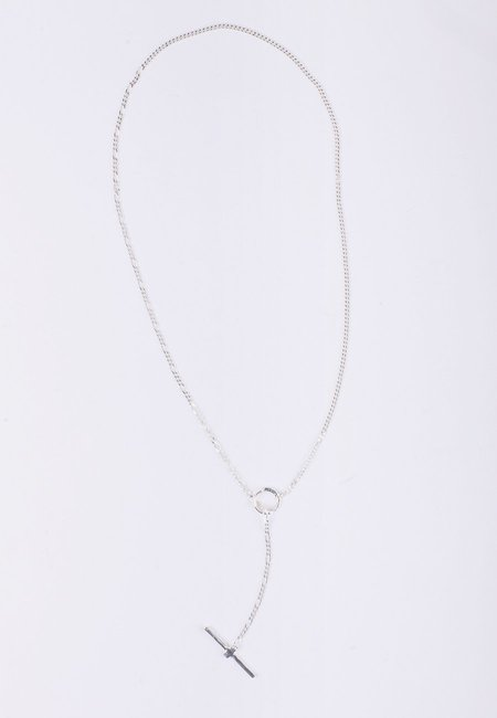 Newend Fob Necklace - Silver