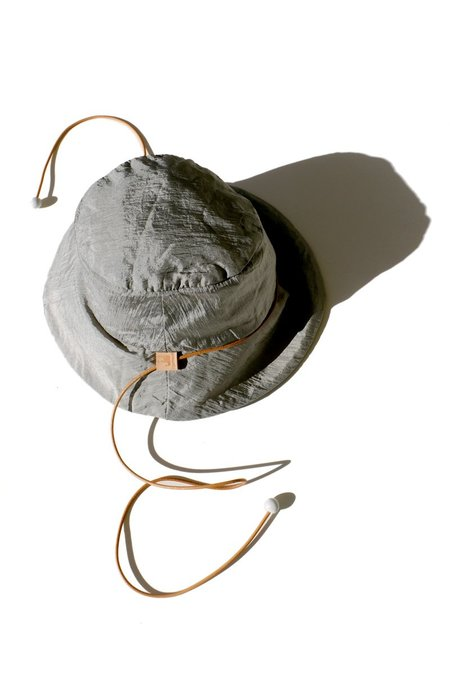 Jujumade Reversible Nylon Bucket Hat - Silver