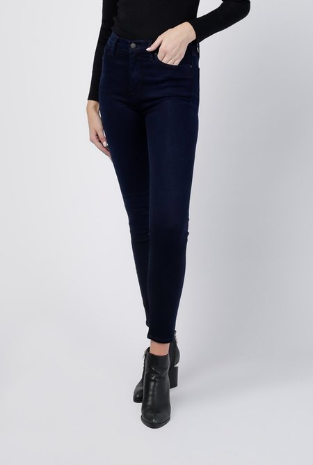 Hudson Jeans Barbara High Rise Super Skinny Ankle Jeans - Idle
