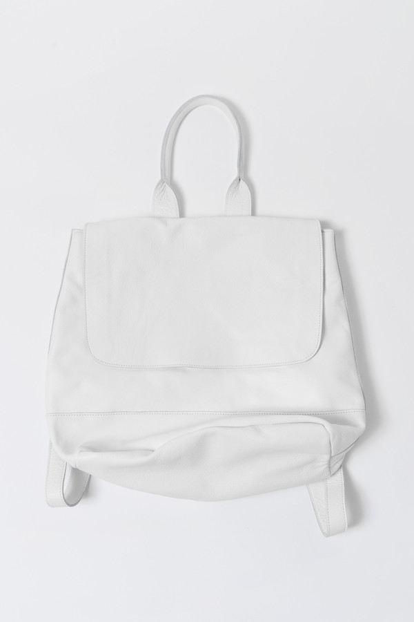 Clyde White Room Backpack