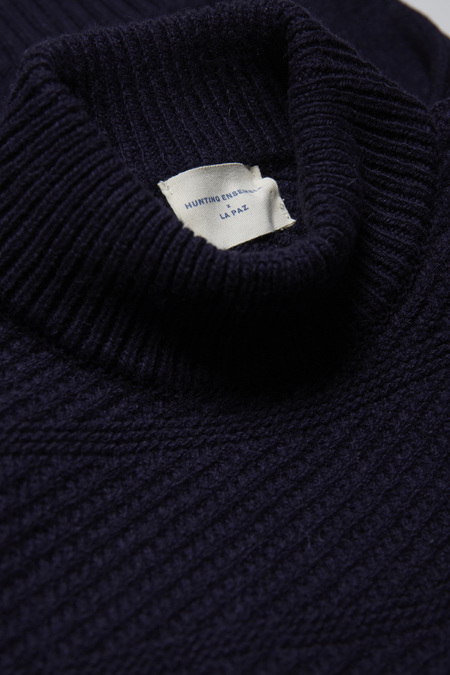 Hunting Ensemble X La Paz Joost Knit - Navy