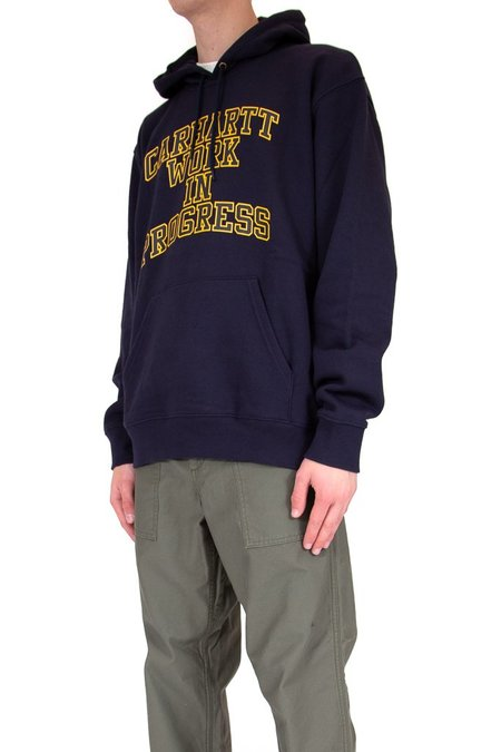 CARHARTT WIP WIP Division Hooded Sweatshirt - Dark Navy