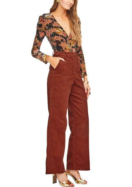 ASTR The Label Corduroy Robertson Pant - Maple