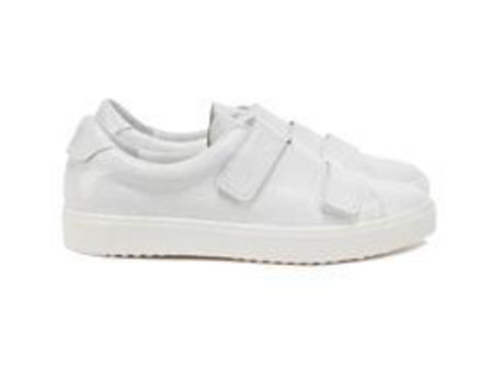 Department of Finery Hudson Sneakers - White Crinkle