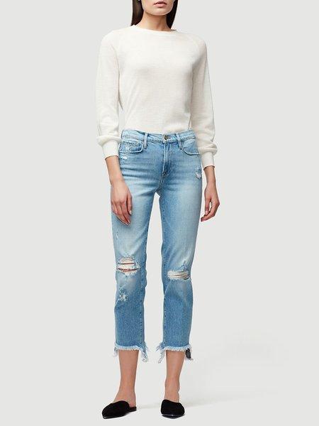 Frame Denim Le Nouveau Straight Stiletto Hem Jeans - Belding