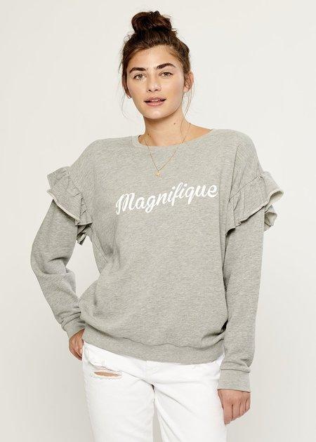 b3e2b05cd0af0 South Parade Magnifique Boyfriend Sweatshirt - Heather Gray ...
