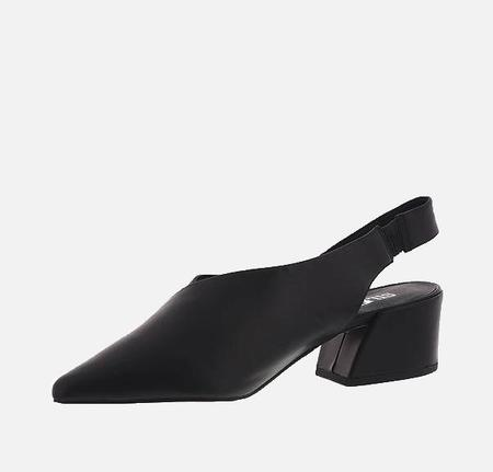 Silent D One Night Leather Shoe - BLACK
