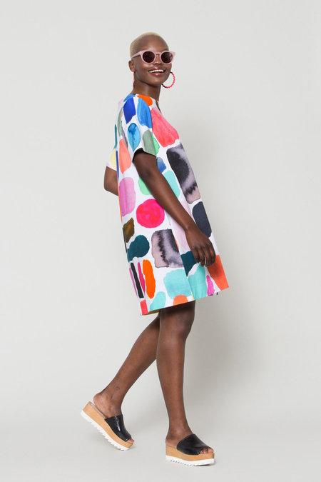 GormanJersey Dress -  Shapes Print