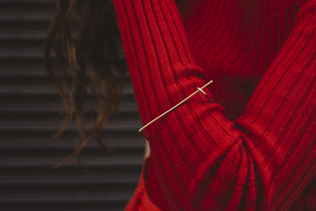 Eyde The Ivy Bracelet - Brass