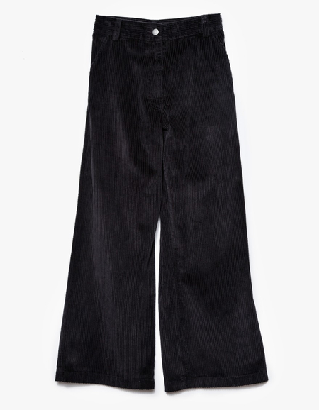 RACHEL COMEY BISHOP CORDUROY PANT - BLACK