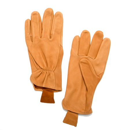 Unisex Geier Glove Medium Weight Deerskin Glove - Tan