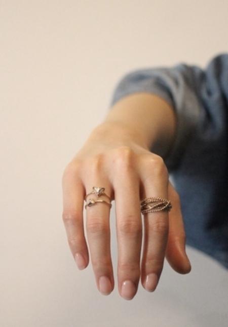 Bernice Kelly Keller Ring - 10k Yellow Gold
