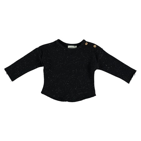 KIDS Buho Jansen Melange Fleece Sweater - Antracite