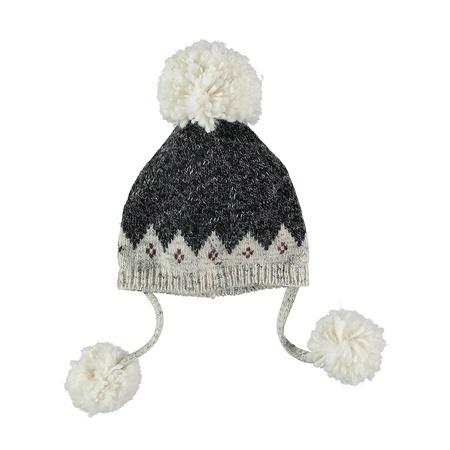 KIDS Buho Tibet Jacquard Knit Hat - Unic