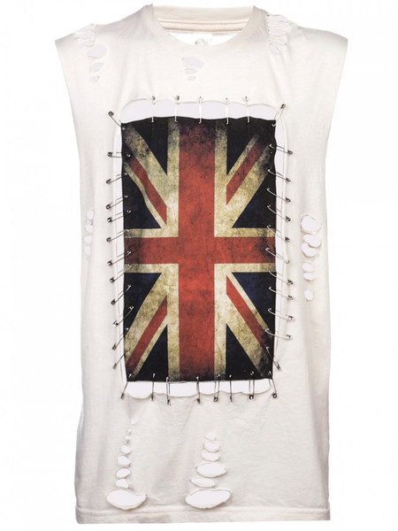 Any Old Iron Union Jack Pin T-Shirt
