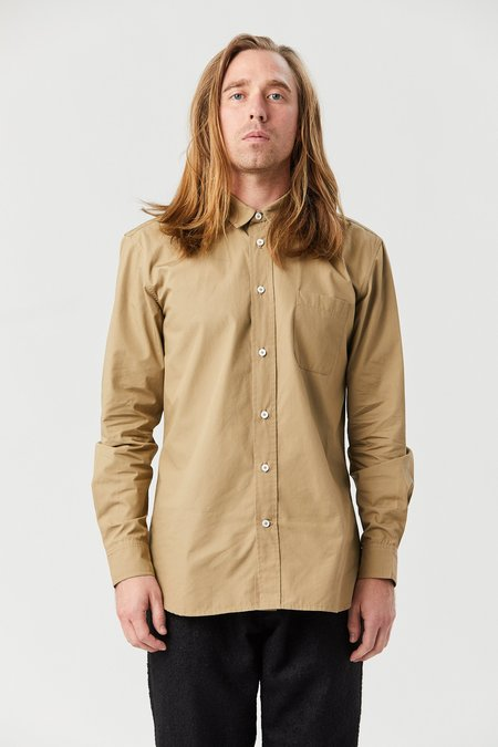 House of St. Clair TYPEWRITER SHIRT - TAUPE