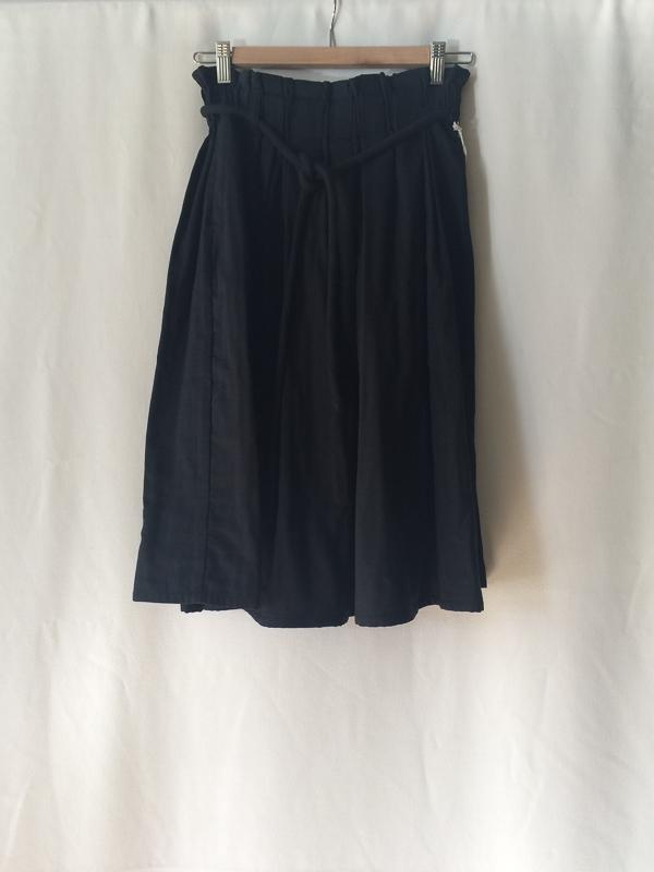 wrk-shp draft skirt w/ cord