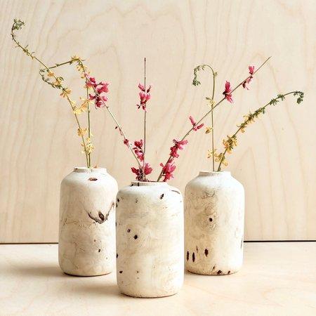 Melanie Abrantes Small Buckeye Burl Vase