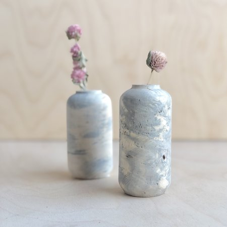 Melanie Abrantes Two-Tone Buckeye Burl Vase