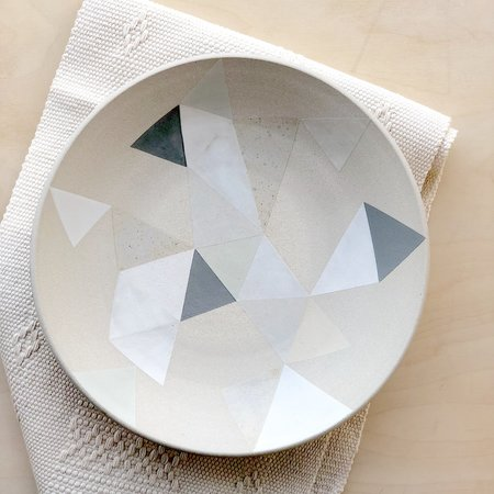 Adi Mizrahi Ceramics Mizrahi-Hellmann Large Bowl - Neutral
