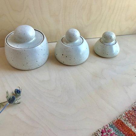 Adi Mizrahi Ceramics Mizrahi-Hellmann Stash Pots - Speckle