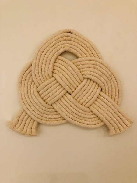 Lise Silva 6 Strand Double Coin Wall Hanging