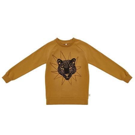 Kids Iglo + Indi Sweatshirt - Honey Mustard Leopard
