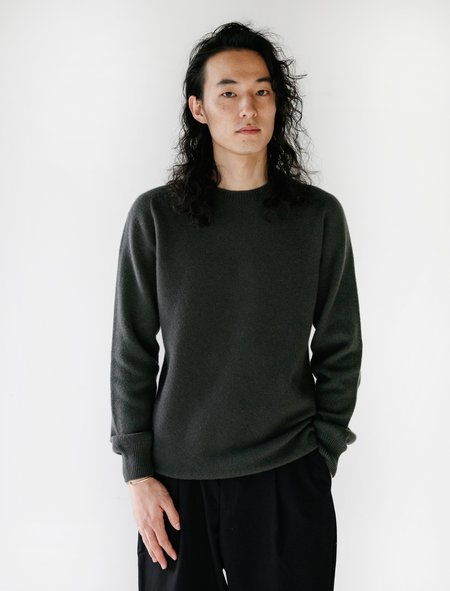 Neighbour Merino Cashmere Sweater - Military Green