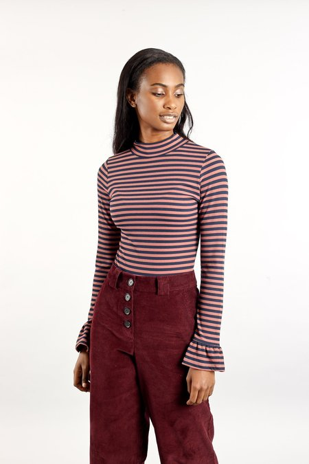 Native Youth The Marie Top - Navy/Pink