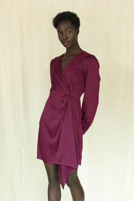 ASTR The Label Flash Dress - Purple