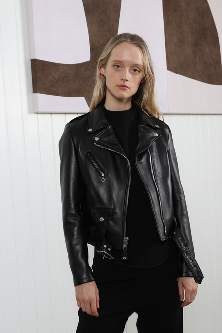 Schott NYC Perfecto Leather Moto Jacket - Black