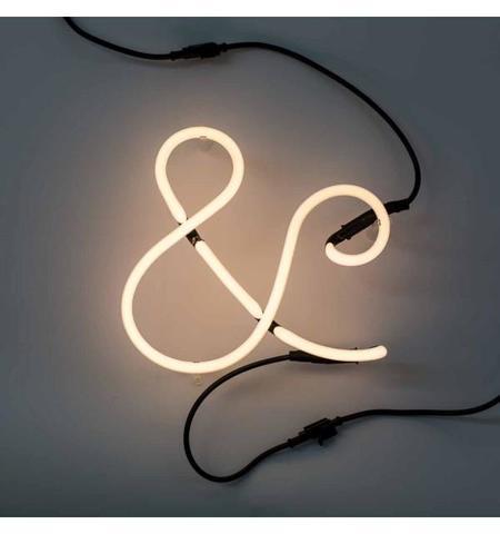seletti neon letter