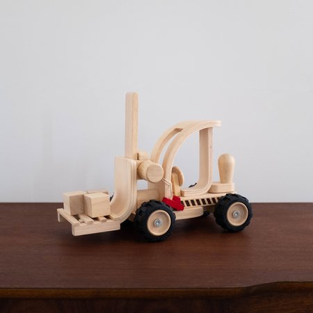 Kids Plan Toys Wooden Forklift Toy