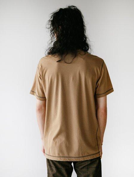 Comme des Garçons Homme Deux Garment Dyed T-Shirt - Khaki