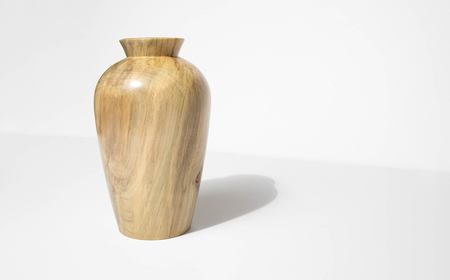 Bruce Perlmutter Hand Lathed Holly Vessel