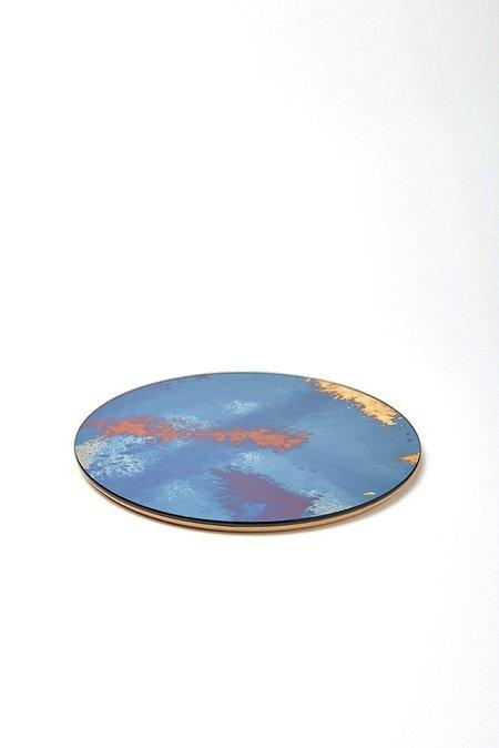 Antique Mirror Underplate - Vulcano